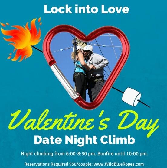 Wild Blue Ropes Valentine's Day