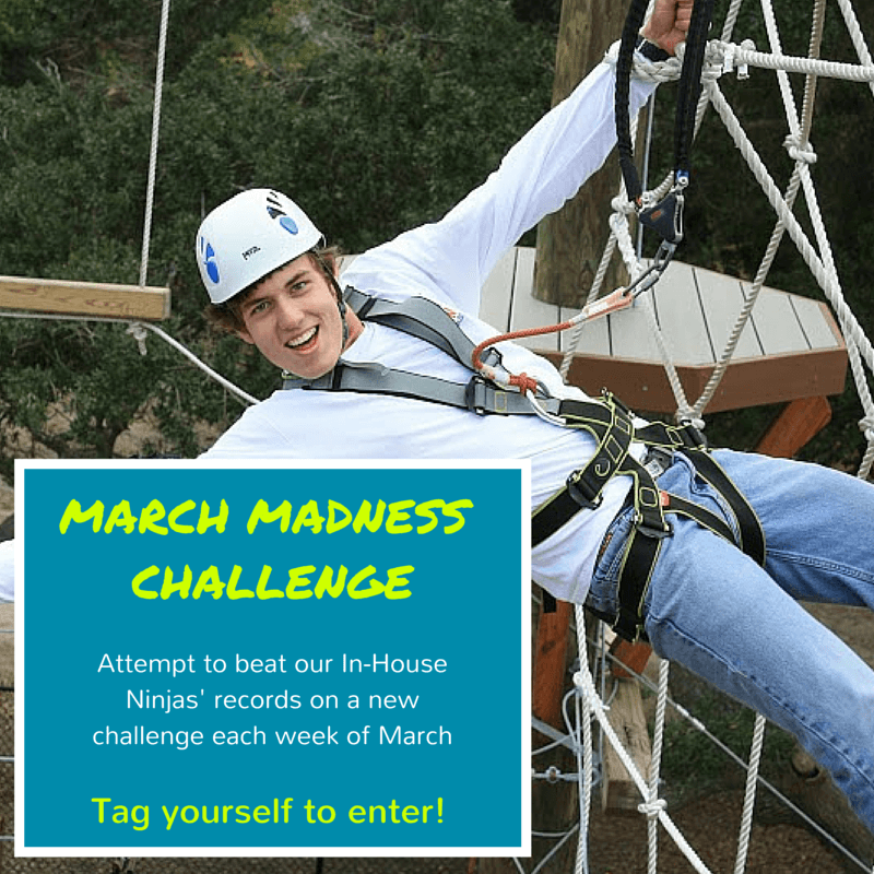 Wild Blue Ropes march madness