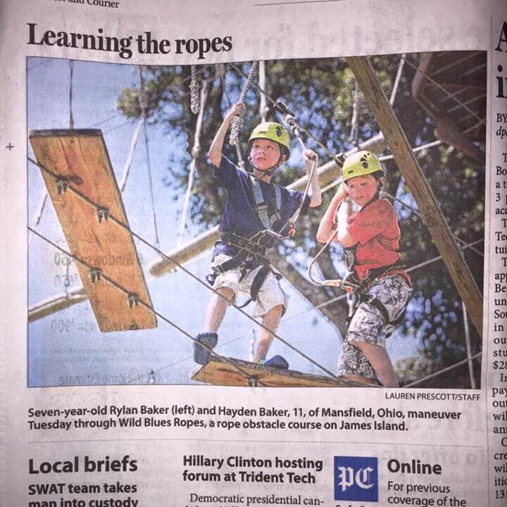 Post and Courier Learning the Ropes
