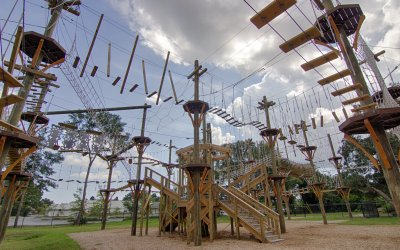 Helmet-to-Toe Workout: Getting Your Heart Pumping at Wild Blue Ropes