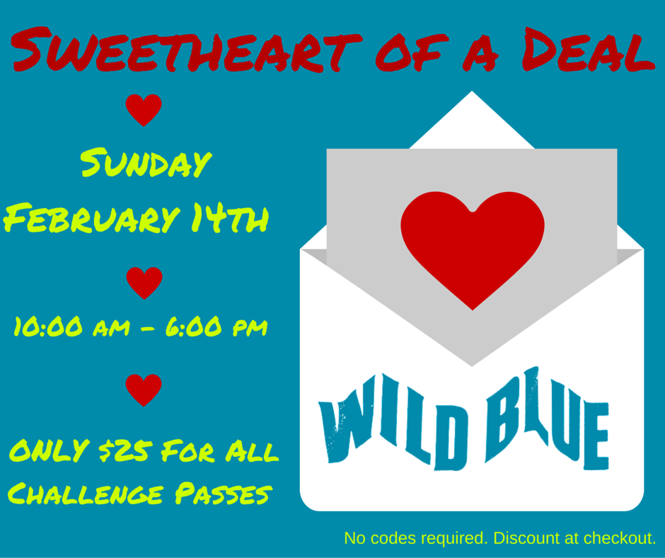 wild blue ropes valentines day deal