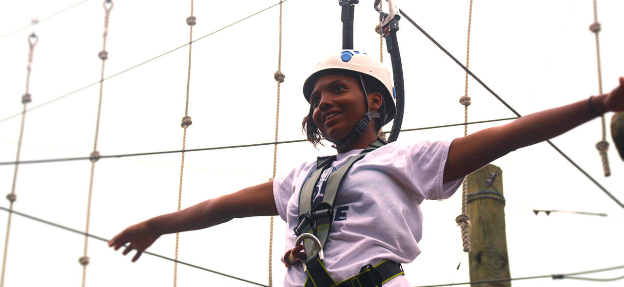 Challenge By Choice Wild Blue Ropes