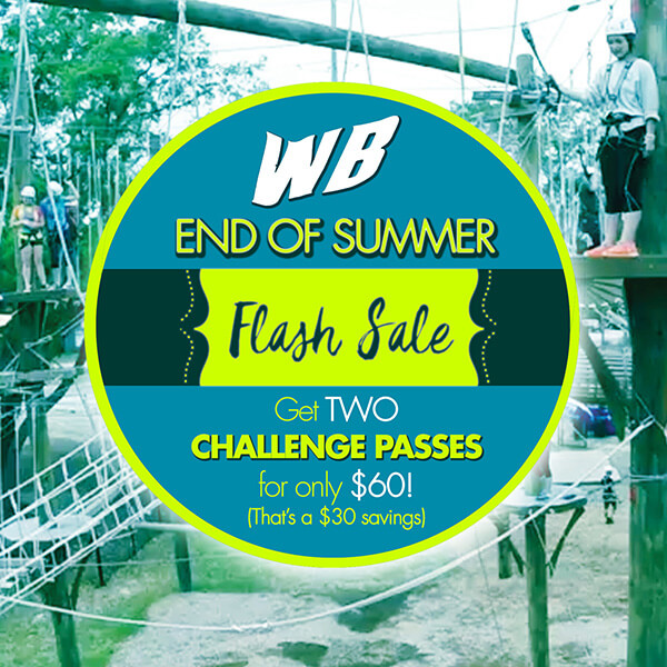 Wild Blue Ropes Challenge Pass flash sale