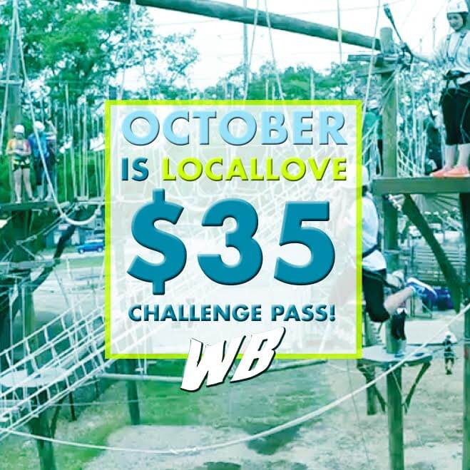 Wild Blue Ropes October Discount