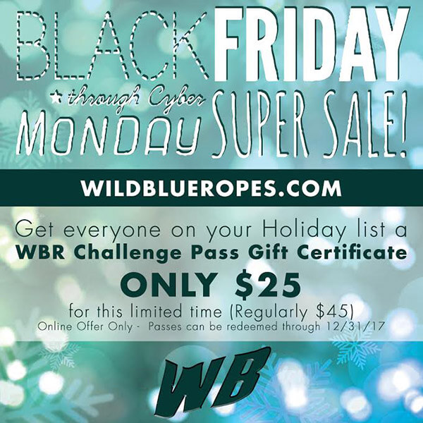 Wild Blue Ropes Black Friday Sale