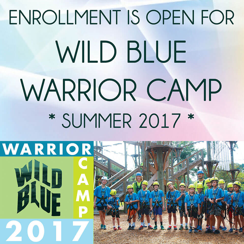 Wild Blue Ropes Wild Blue Warrior Summer Camp