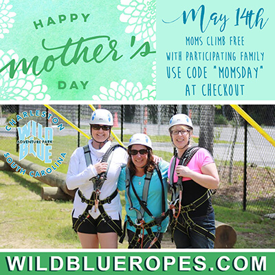 Wild Blue Ropes Mother's Day Climb 2017