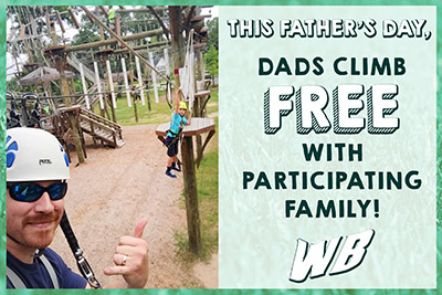 Wild Blue Ropes Fathers's Day Climb 2017