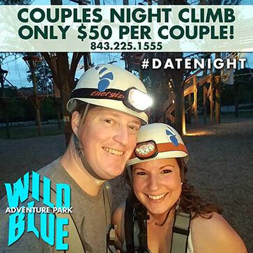 Wild Blue Ropes Adventure Park recurring event graphic