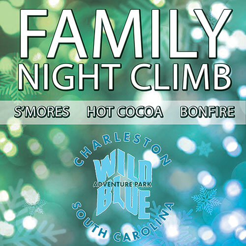 Family Night Climb at Wild Blue
