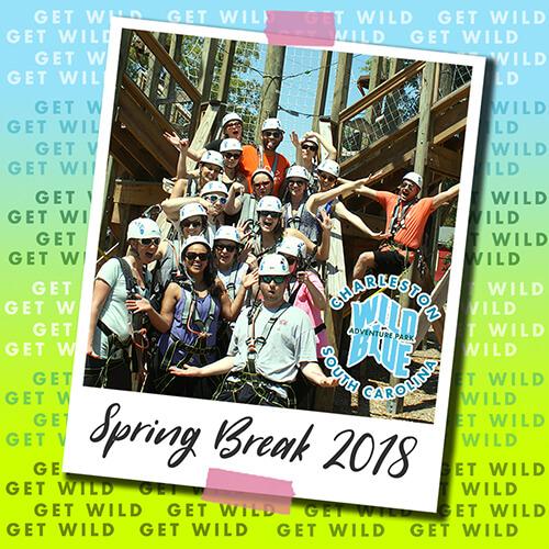 Wild Blue Ropes Adventure Park seasonal event graphic