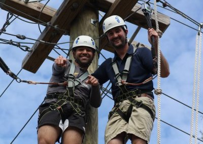 wild blue ropes course