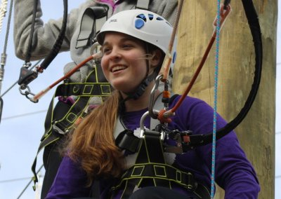 women day in charleston at wild blue ropes