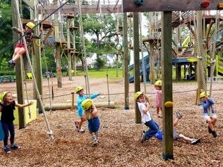 Social distancing at Summer Camp