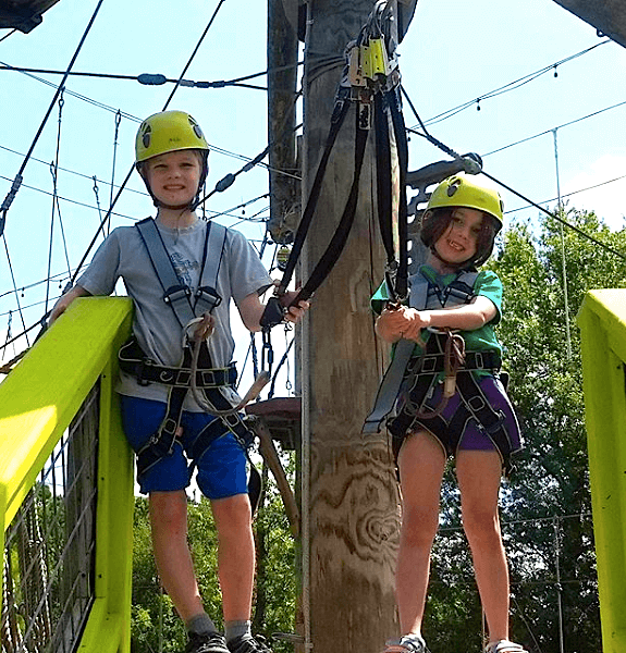 After School Adventure at Wild Blue Ropes